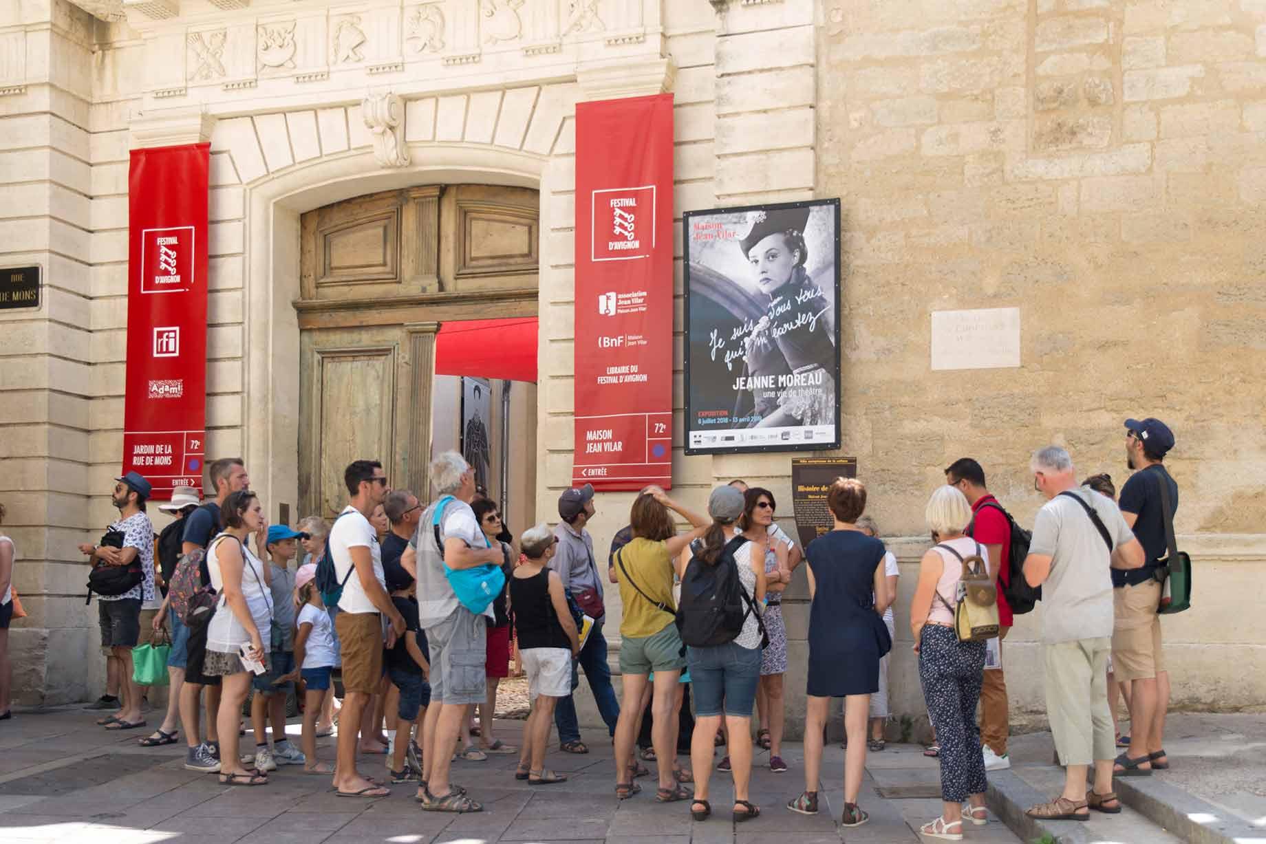 Visite de l'histoire du Festival (FR)