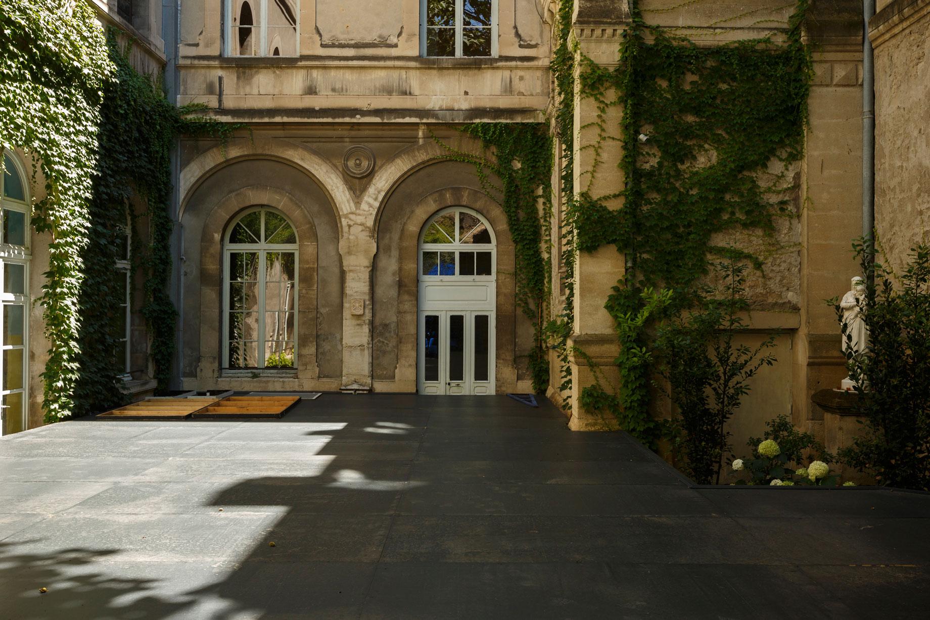 Jardin de la Vierge du lycée Saint-Joseph