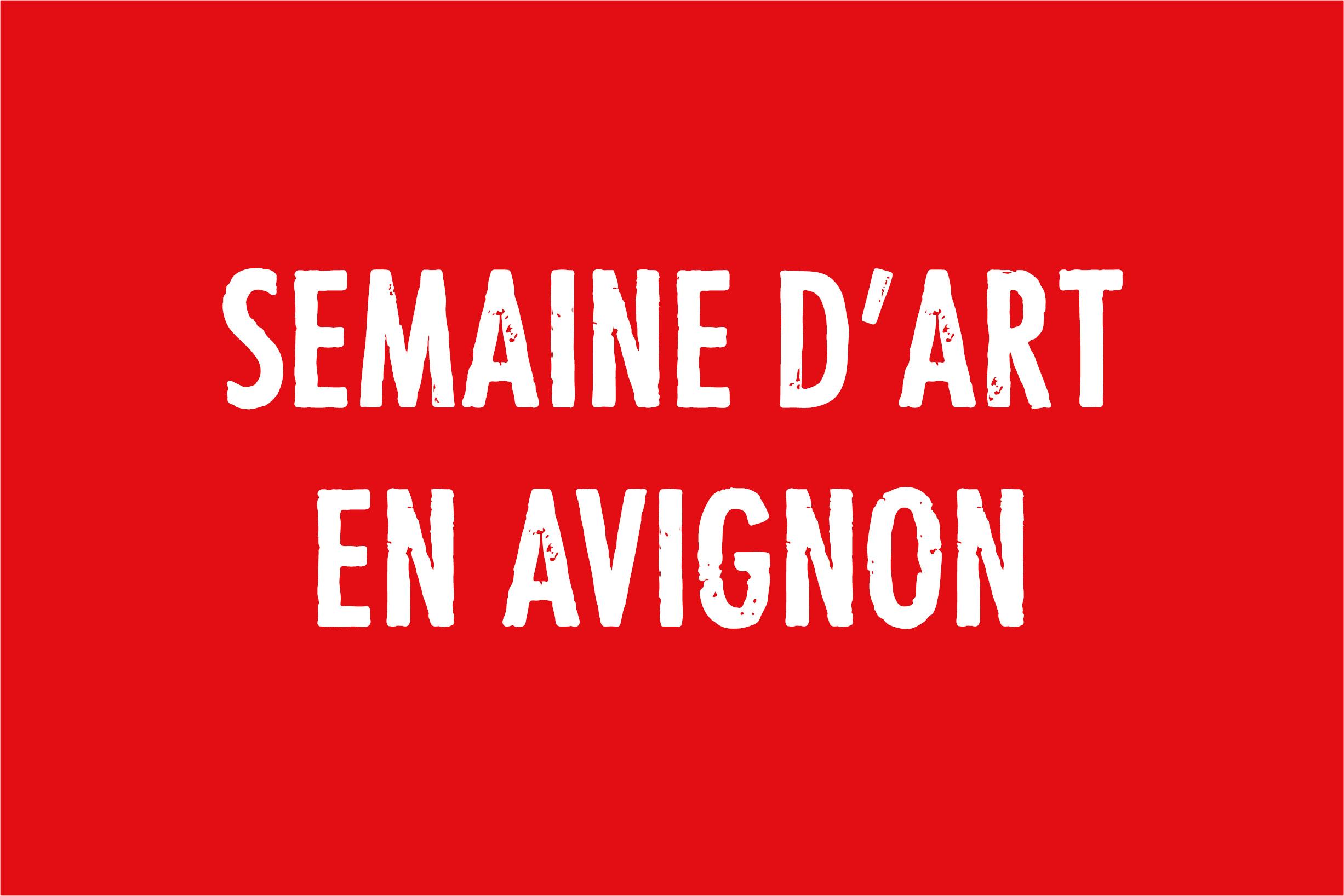 Semaine d'art en Avignon