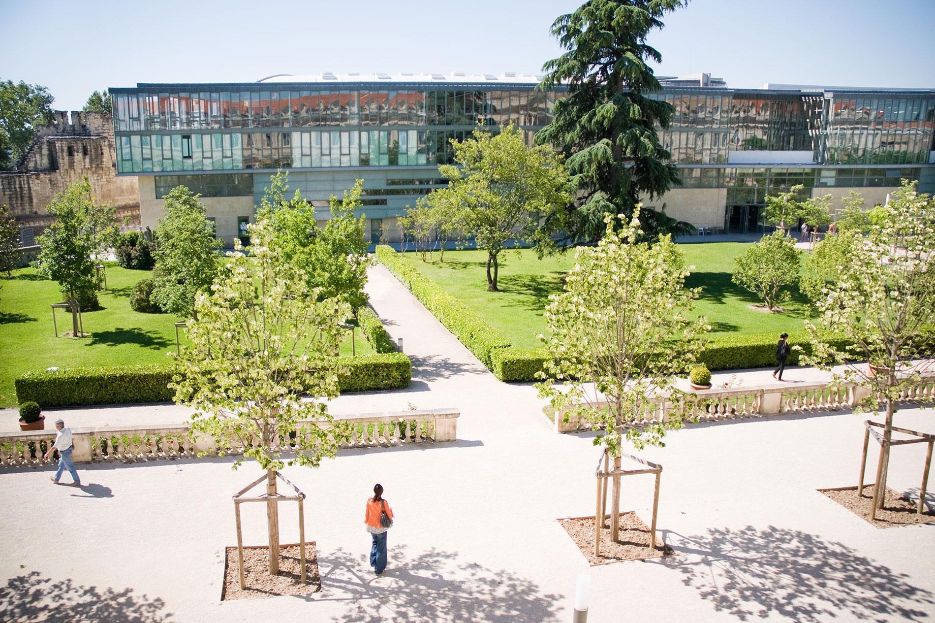 Jardins de l'Université d'Avignon et des Pays de Vaucluse