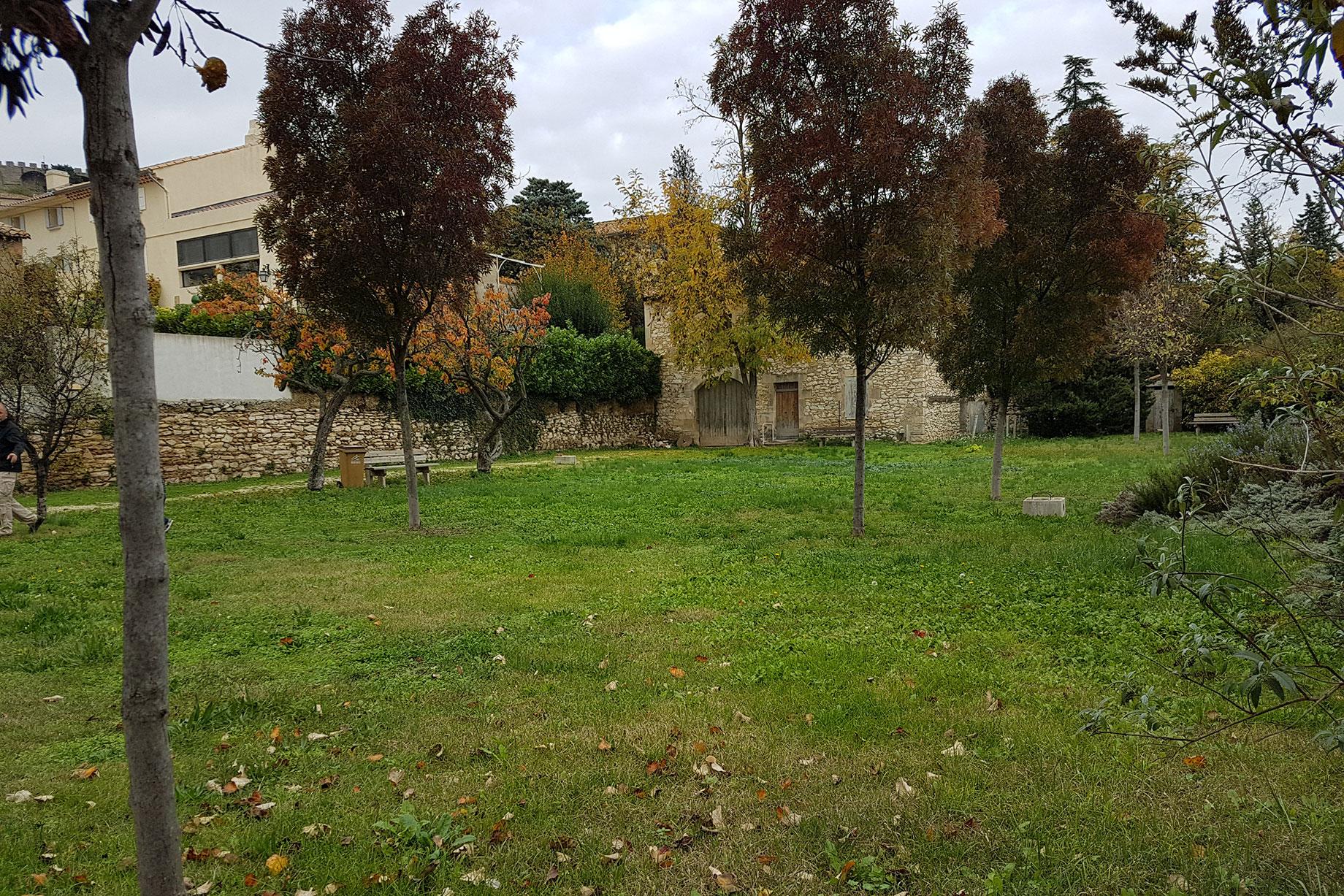 Jardin de la Treille à Chateauneuf-de-Gadagne