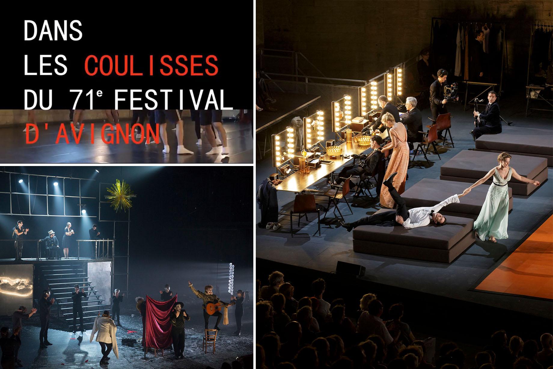 france Télévisions met à l'honneur le Festival d'Avignon ce mois-ci ! Revoyez Henry VI de Thomas Jolly (2014) et bientôt le documentaire Dans les coulisses du Festival d'Avignon (2017) et Les Damnés de Ivo van Hove (2016).