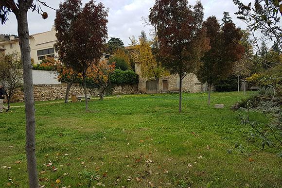 Jardin de la Treille à Châteauneuf-de-Gadagne